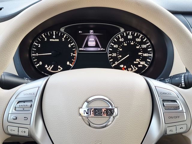 "2017 Nissan Altima 2.5 S 2.5L Smart Key 5"" Color Display Rear View in Louisville, TN 37777"