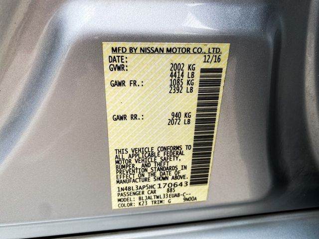 2017 Nissan Altima 3.5 SL Madison, NC 40
