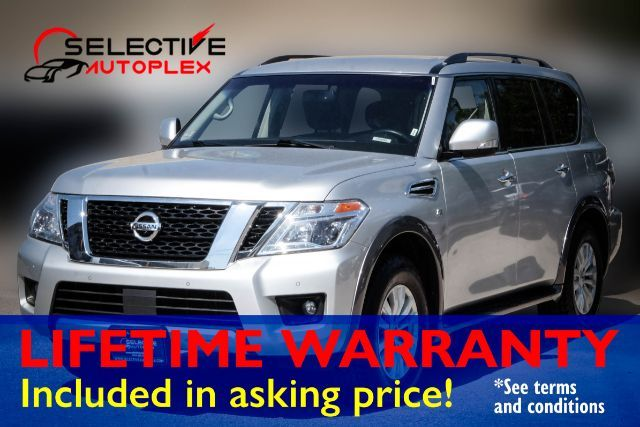 2017 Nissan Armada SV, NAV, 3RD ROW SEATS, BACKUP CAM, BLUETOOTH in Carrollton, TX 75006