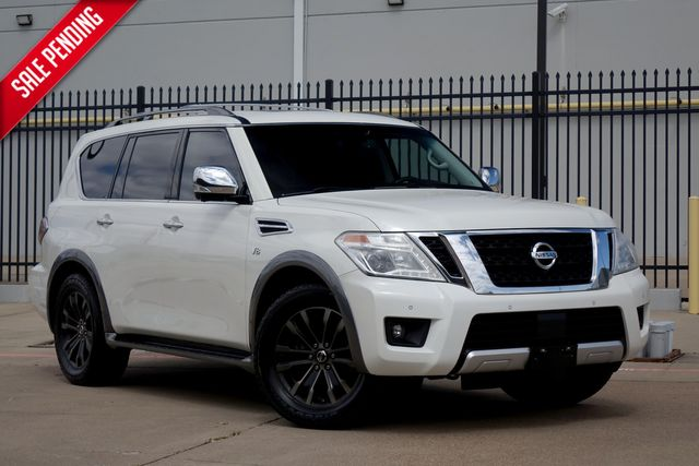 2017 Nissan Armada Platinum*3rd row*DVD*Sunroof*Nav** | Plano, TX | Carrick's Autos in Plano TX