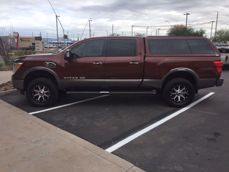 2017 Nissan Camper Shell  Truck toppers Truck Caps in Mesa AZ