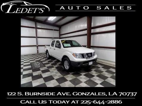 2017 Nissan Frontier 4wd SV V6 - Ledet's Auto Sales Gonzales_state_zip in Gonzales, Louisiana