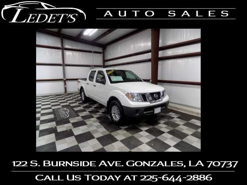 2017 Nissan Frontier 4wd SV V6 - Ledet's Auto Sales Gonzales_state_zip in Gonzales Louisiana