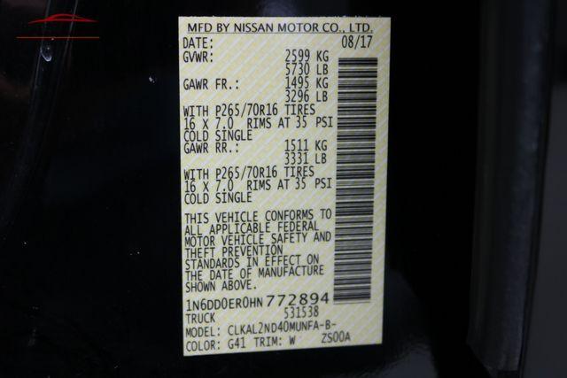 2017 Nissan Frontier SV V6 Merrillville, Indiana 47