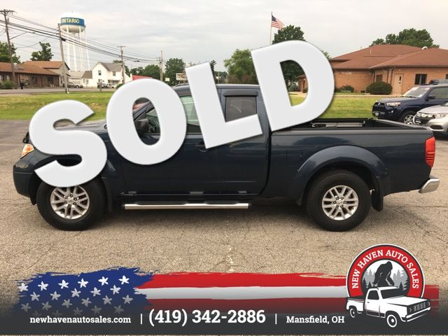 2017 Nissan Frontier SV V6 4X4 in Mansfield, OH 44903