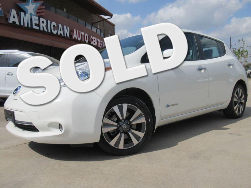 2017 Nissan LEAF SL | Houston, TX | American Auto Centers in Houston TX