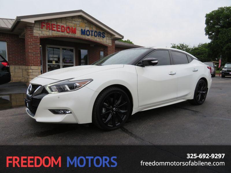 2017 Nissan Maxima Platinum | Abilene, Texas | Freedom Motors  in Abilene Texas