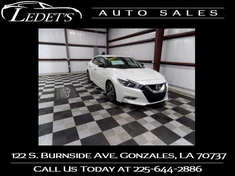 2017 Nissan Maxima SV - Ledet's Auto Sales Gonzales_state_zip in Gonzales Louisiana
