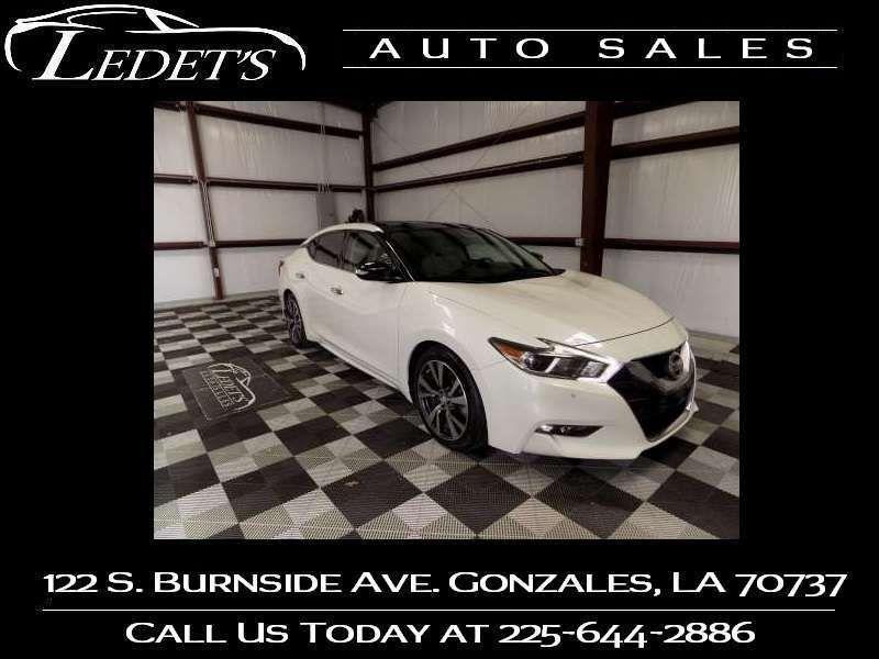 2017 Nissan Maxima SL - Ledet's Auto Sales Gonzales_state_zip in Gonzales Louisiana