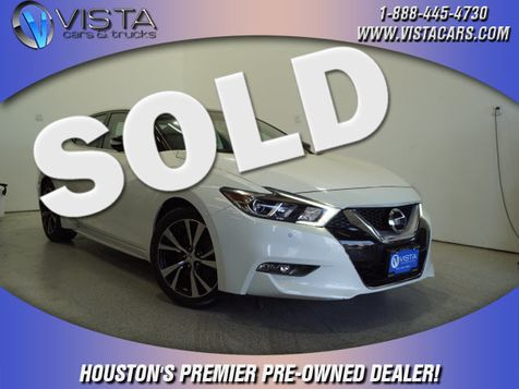 2017 Nissan Maxima Platinum in Houston, Texas