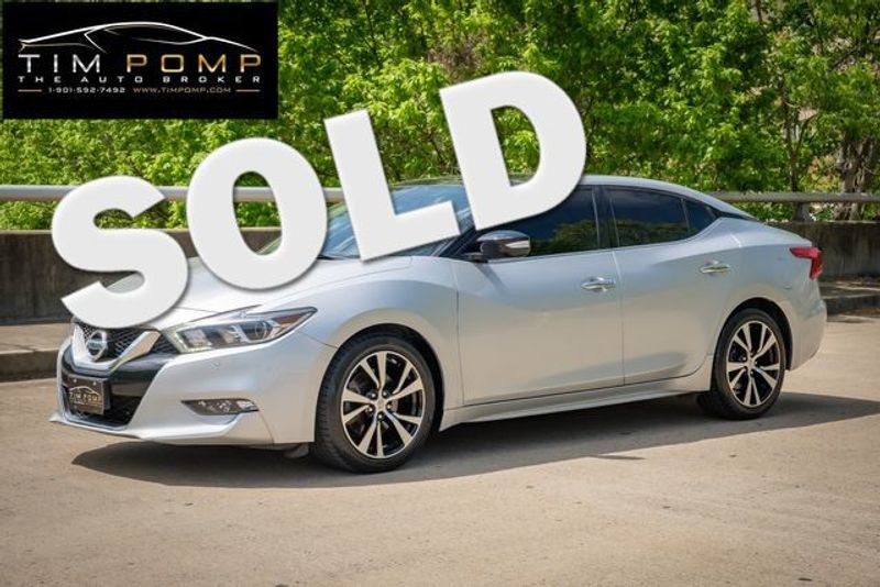 2017 Nissan Maxima SL | Memphis, Tennessee | Tim Pomp - The Auto Broker in Memphis Tennessee