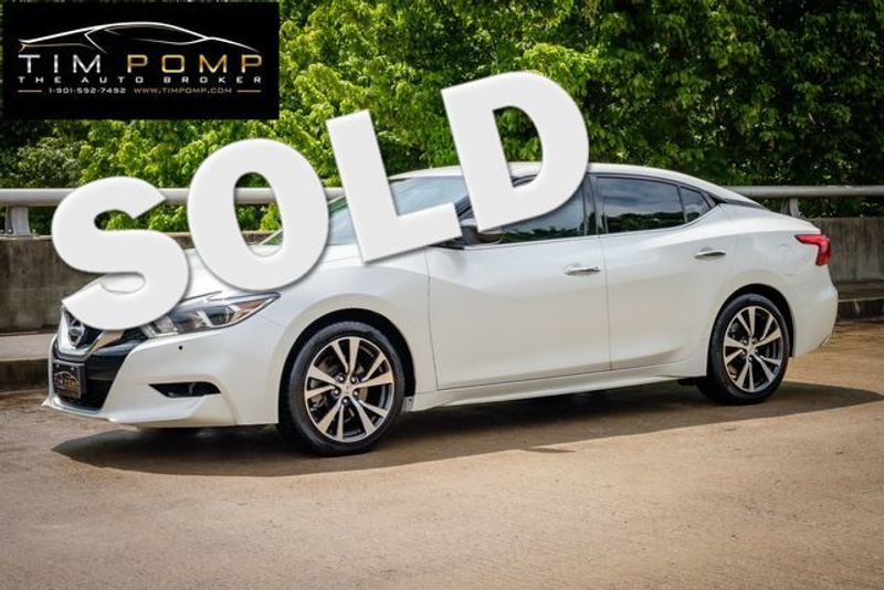 2017 Nissan Maxima SV | Memphis, Tennessee | Tim Pomp - The Auto Broker in Memphis Tennessee