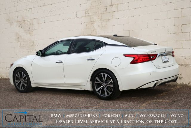 2017 Nissan Maxima Platinum Luxury-Sport Sedan w/Nav, 360º View Cameras, Heated/Cooled Seats & BOSE Audio in Eau Claire, Wisconsin 54703