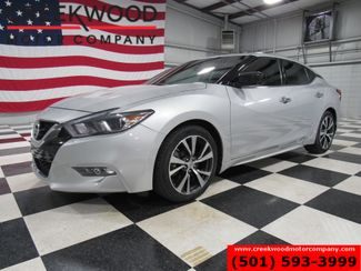 2017 Nissan Maxima S 3.5L V6 Silver Nav Financing New Tires 1 Owner in Searcy, AR 72143