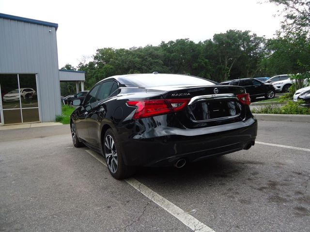2017 Nissan Maxima SV LEATHER. NAVIGATION. HEATED SEATS SEFFNER, Florida 12