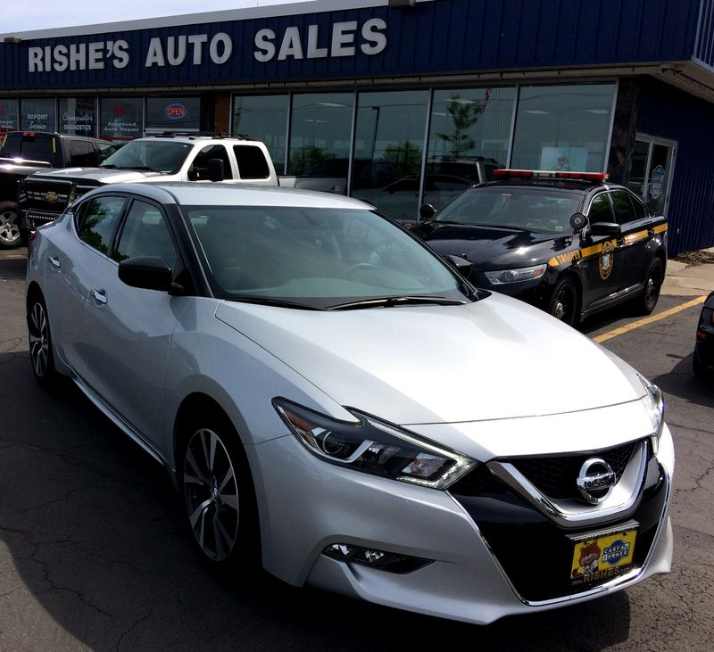 2017 Nissan Maxima SL with Nav, Remote Start  | Rishe's Import Center in Ogdensburg New York