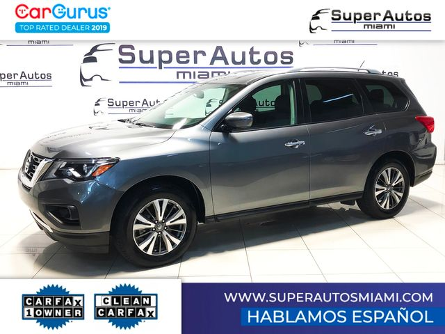 2017 Nissan Pathfinder SV with 3rd Row Seats