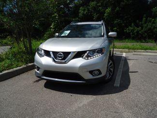 2015 Nissan Rogue SL PREM PKG. PANORAMA. NAVI. BOSE. PWR LIFTGATE SEFFNER, Florida 6