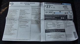 2017 Nissan Rogue SV Waterbury, Connecticut 34