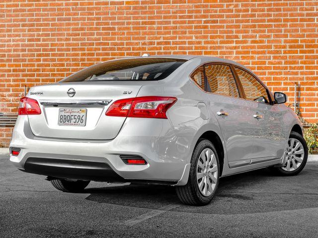 2017 Nissan Sentra SV Burbank, CA 6