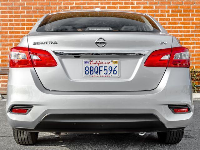 2017 Nissan Sentra SV Burbank, CA 3
