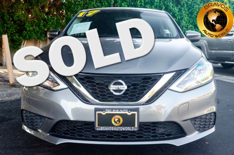 2017 Nissan Sentra S in cathedral city