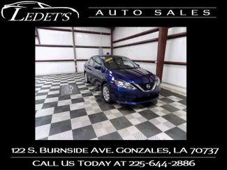 2017 Nissan Sentra SV - Ledet's Auto Sales Gonzales_state_zip in Gonzales
