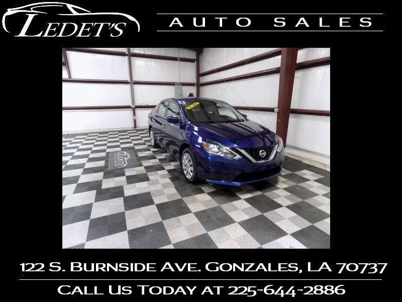 2017 Nissan Sentra SV - Ledet's Auto Sales Gonzales_state_zip in Gonzales Louisiana