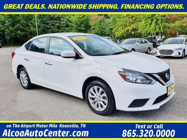 "2017 Nissan Sentra S STYLE Package w/16"" Alloy Wheels/ Rear Spoiler in Louisville, TN 37777"