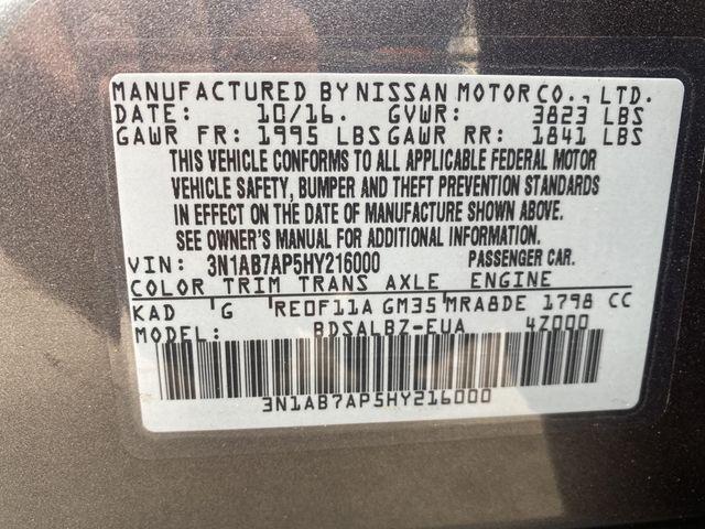 2017 Nissan Sentra S Madison, NC 35