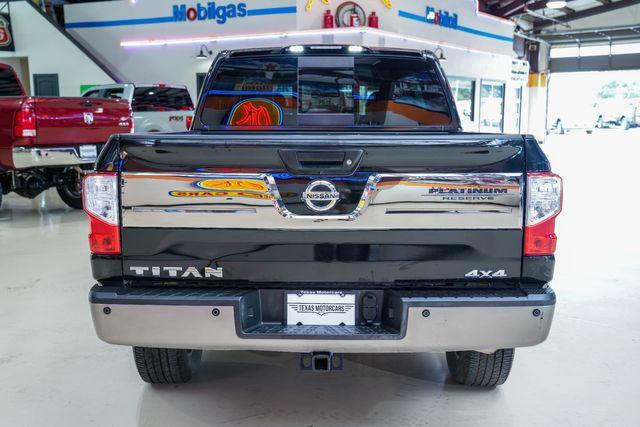 2017 Nissan Titan Platinum Reserve in Addison, Texas 75001