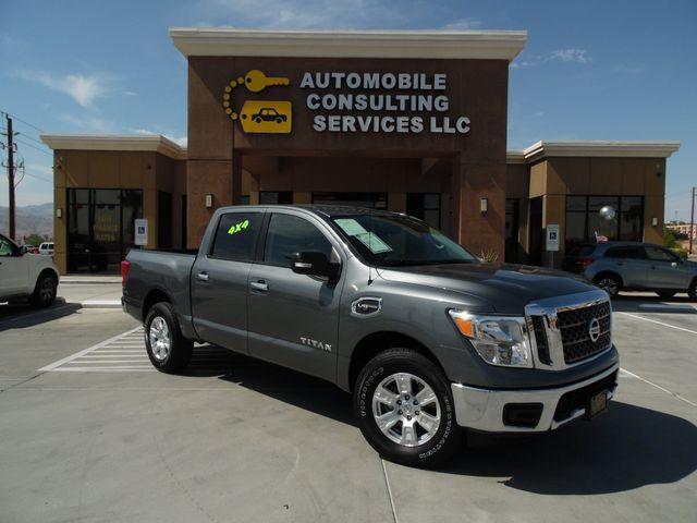 2017 Nissan Titan SV 4x4 in Bullhead City Arizona, 86442-6452