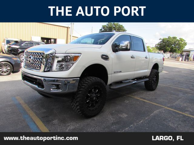 2017 Nissan Titan SL in Clearwater Florida, 33773