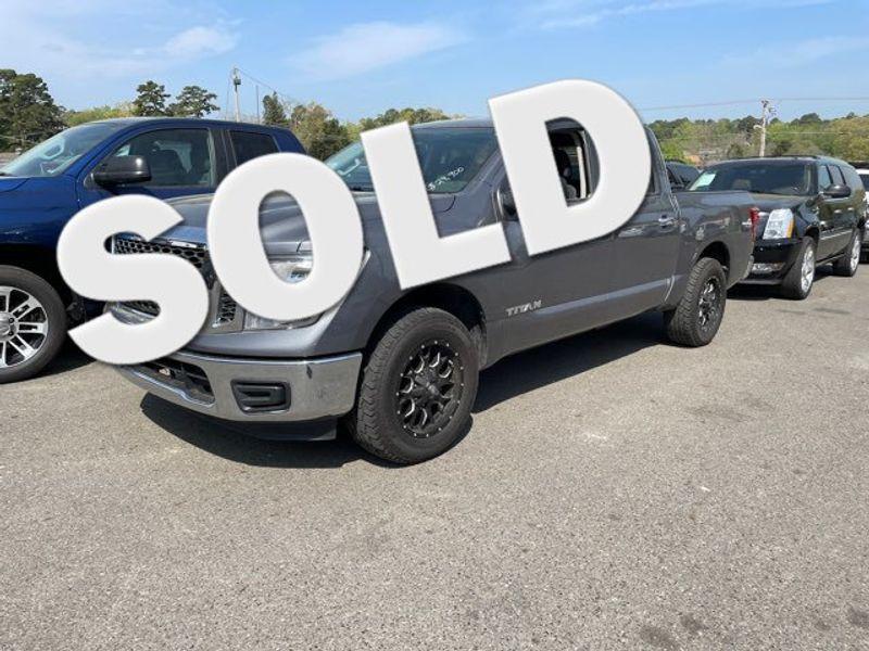 2017 Nissan Titan SV - John Gibson Auto Sales Hot Springs in Hot Springs Arkansas