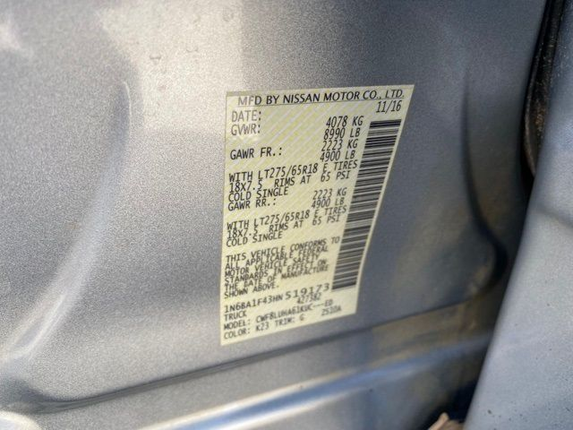 2017 Nissan Titan XD PRO-4X Madison, NC 39