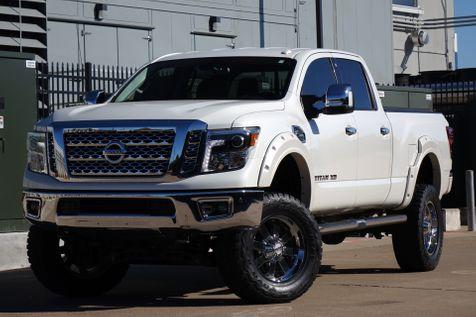 2017 Nissan Titan XD SL* Diesel* Leather* Nav* BU Cam* 4x4* EZ Finance | Plano, TX | Carrick's Autos in Plano, TX