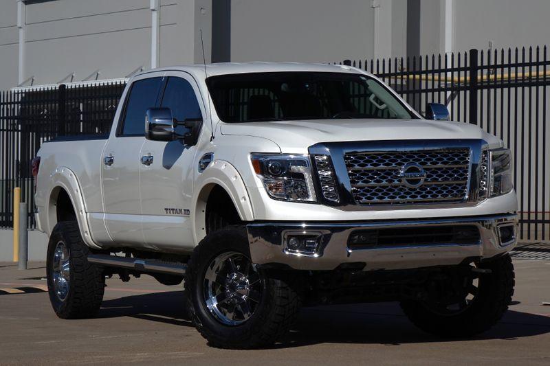 2017 Nissan Titan XD SL* Diesel* Leather* Nav* BU Cam* 4x4* EZ Finance | Plano, TX | Carrick's Autos in Plano TX