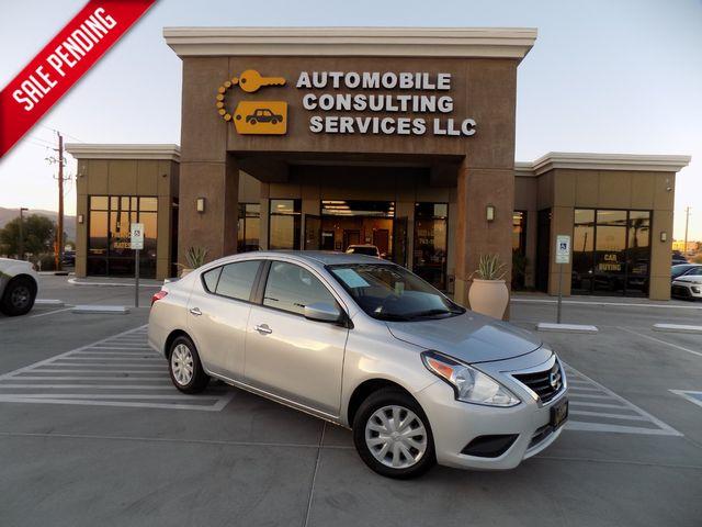 2017 Nissan Versa Sedan SV in Bullhead City, AZ 86442-6452