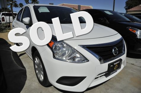 2017 Nissan Versa Sedan SV in cathedral city
