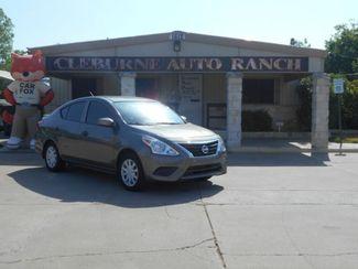 2017 Nissan Versa Sedan S Plus Cleburne, Texas 1