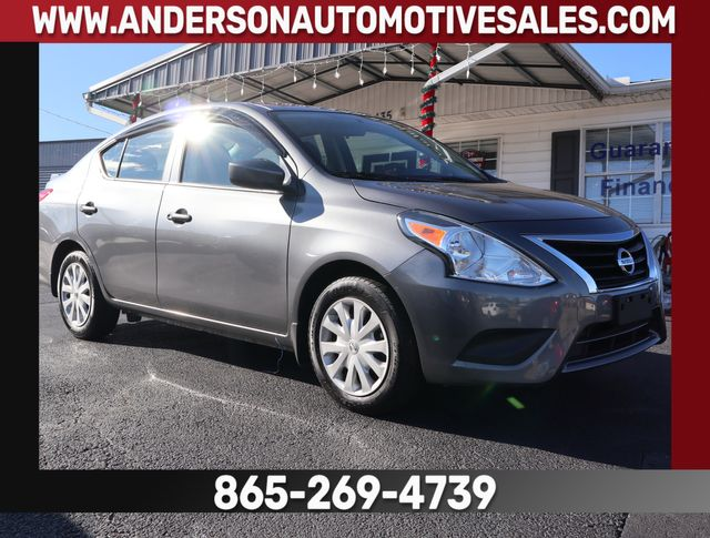 2017 Nissan Versa Sedan S Plus in Clinton, TN 37716