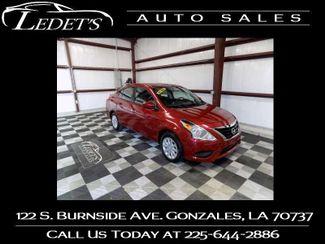2017 Nissan Versa Sedan SV - Ledet's Auto Sales Gonzales_state_zip in Gonzales