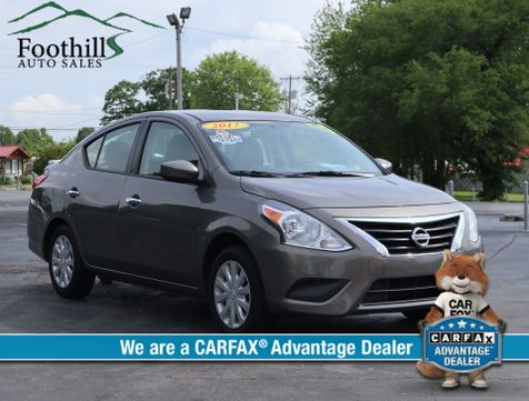 2017 Nissan Versa Sedan SV in Maryville, TN
