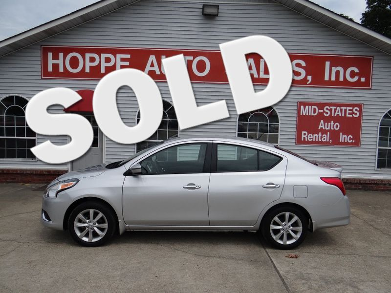 2017 Nissan Versa Sedan SL | Paragould, Arkansas | Hoppe Auto Sales, Inc. in Paragould Arkansas