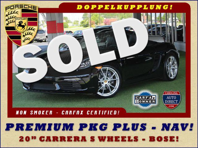 "2017 Porsche 718 Boxster NAV - PREMIUM PKG PLUS - 20"" CARRERA S WHEELS! Mooresville , NC 0"