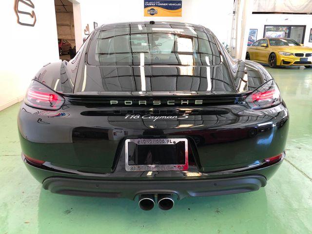 2017 Porsche 718 Cayman S Longwood, FL 9
