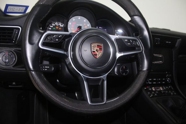 2017 Porsche 911 Manual Carrera 4S Houston, Texas 24