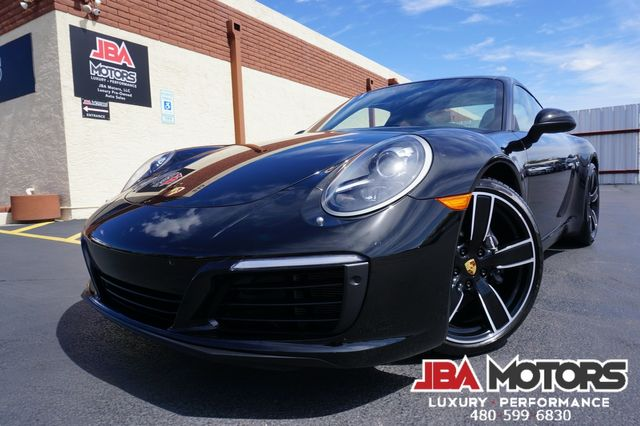 2017 Porsche 911 Carrera Coupe ~ 7 Speed Manual Transmission