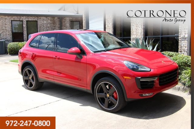 2017 Porsche Cayenne Turbo in Addison, TX 75001