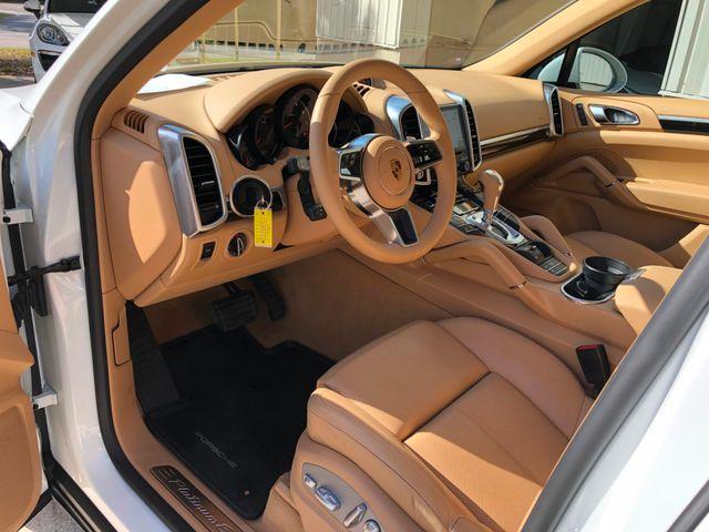 2017 Porsche Cayenne Platinum Edition Longwood, FL 47
